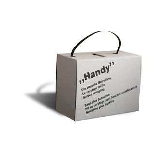 Handy-Set 600 Meter Umreifungsband mit 200...